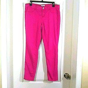 Aeropostale Ashley Ultra Skinny Pink Pants  13/14